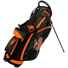 Brand New Team Golf Mlb Baltimore Orioles Fairway Stand Bag 95228