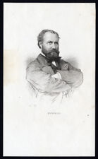 Antique Print-CHARLES FRANCOIS GOUNOD-COMPOSER-PORTRAIT-Massard-1870