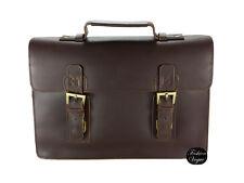 Men's Tidings Vintage Briefcase Laptop Work Bag 100% Cowhide Leather ***SALE***