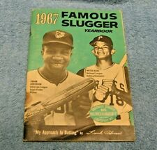 Famous Slugger Yearbook 1967 - Frank Robinson & Matty Alou