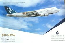Air New Zealand - 'Lord Of The Rings' B-747 Postcard
