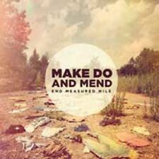 MAKE DO AND MEND End Measured Mile CD BRAND NEW