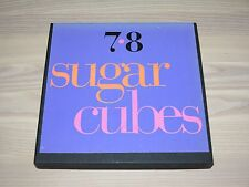"THE SUGARCUBES 7 x 7"" SINGLES BOX - "" 7•8 "" / 1989 UK PRESS in MINT"