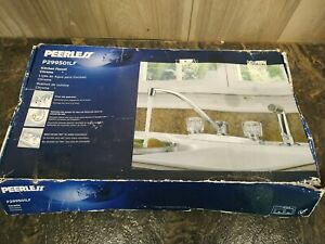 Peerless 299501LF Two Handle Kitchen Faucet - Chrome With Sprayer