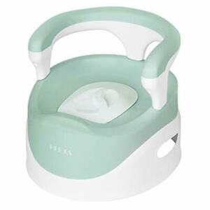 Bacinica de entrenamiento para niños y niñas, con tapa y recipiente extraíble.