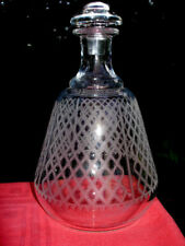 BACCARAT ALHAMBRA WHISKEY WINE DECANTER CARAFE WHISKY CRISTAL GRAVÉ ART DECO