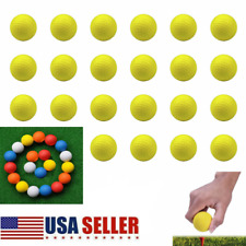 12/24/36x Foam Golf Balls Practice PU Elastic Sponge Indoor Outdoor Chip Drive