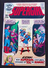 SUPER DC GIANT S-24 - Supergirl - Superman - Luthor (DC 1971) 8.0 VF