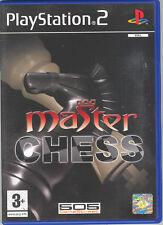 MASTER CHESS - PS2 (USATO) ITALIANO