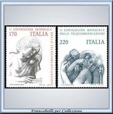 1979 Italia Repubblica Telecomunicazioni n 1471/1472 **