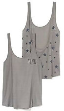 NEW! VICTORIA'S SECRET PINK STARS LOW-BACK TANK S