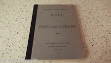 Inventory of County Archives Bingham Idaho 1942 WPA