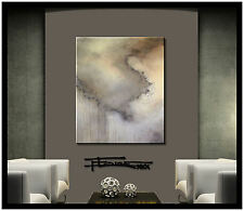 ABSTRACT PAINTING Modern Canvas Wall ART Large Framed Signed US ELOISExxx