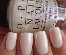 OPI Muppets Most Wanted *INT'L CRIME CAPER* White Pearl Nail Polish Lacquer M81