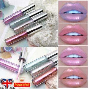 HANDAIYAN Mermaid Lip Gloss Luminizer Iridescent Holographic  Liquid Lipstick*UK
