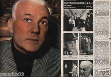 Coupure de presse Clipping 1978 Raymond Rouleau  (4 pages)