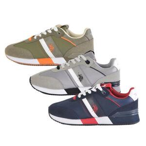 Sneakers U.S Polo ASSN. Barry ecopelle scarpa stringata uomo