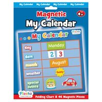 Small Blue My Magnetic Calender - Calendar Fiesta Crafts Activity Charts