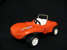 Tonka Dune Buggy in Orange, Vintage Pressed Steel Approx. 7 in long