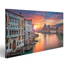 Bild Bilder auf Leinwand Venedig Bild von Canal Grande in Venedig, mit CKG-1P