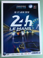 DVD FILM OFFICIEL 24 HEURES DU MANS 16-17 juin 2018 Français et Anglais NEUF