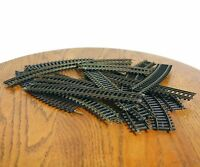 Fleischmann Track Lot Of 16 Railroad Train Curved Straight HO Western Germany