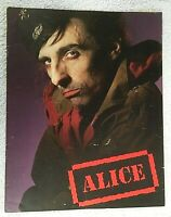 Alice Cooper Tourbook Program 1980 Tour 24 pages color photos Bonus Show review