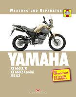 YAMAHA XT 660 MT Reparaturanleitung Reparaturbuch Reparaturhandbuch Schaltplan