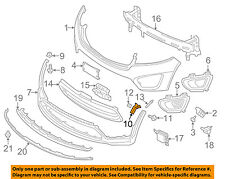 KIA OEM 16-17 Sorento FRONT BUMPER-Molding extn support bracket Left 86577C6000