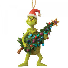 The Grinch Holding Tree Hanging Ornament 6004069