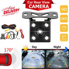 170 º charge-coupled dispositivo coche trasera vista cámara reversa de Respaldo de Estacionamiento IR Visión Nocturna Impermeable