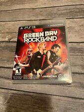 Green Day: Rock Band PS3 Playstation 3 Complete Very Good Condition