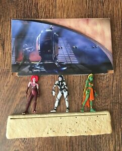 """Star Wars """"The Power of the Force"""" JABBA THE HUTT'S DANCERS PLAYSET complete"""