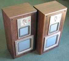 Rare Vintage Sony APM-717 Passive Radiator Loudspeakers - Need TLC