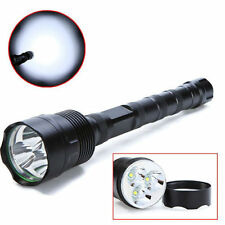 Super Bright 3800 Lumens 3 x CREE XM-L T6 LED Flashlight Torch Light 18650