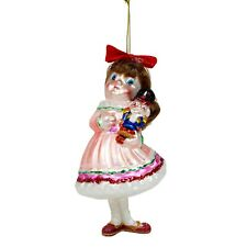 Clara Nutcracker Glass Christmas Tree Bauble Decoration
