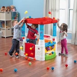 Step2 Crazy Maze Ball Pit Playhouse, Toddler Kids Baby Girl Boy Activity Gift