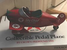 New In Box - Texaco Pedal Plane 1999 - Metal - 1938 Gendron Air King - Red