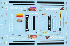 DECALS 1/43 SUBARU IMPREZA WRC -#12 - VAN WOENSEL - RALLYE CONDROZ 2013 - D43374