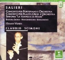 Salieri Antonio e Francesco: Concerti e Sinfonia / Scimone, Badura Skoda - CD