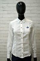 Camicia Bianca Donna MASSIMO DUTTI  Taglia XS Maglia Manica Lunga Shirt Woman