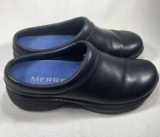 MERRELL Moc J60470 Slip-on Mule Clog Shoes Black Women's Size 9
