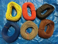 100 Metre -Electrical PVC Sleeving Earth 3mm, 4mm, 6mm Various colour