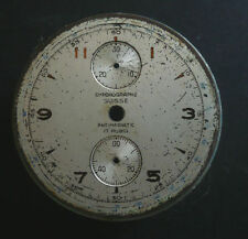 Used Chronographe Suisse Dial for Venus 170 12''' - to restore (parts) AS IS.