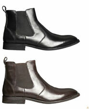 Leather Boots Slip - On Casual Shoes for Men