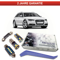 Audi A6 C7 4G Avant Premium LED Innenraumbeleuchtung 16 SMD Set weiß Canbus