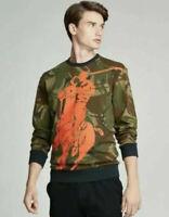 NWT Ralph Lauren Polo Sport Men's Camo Big Pony Sweatshirt Size XL $178