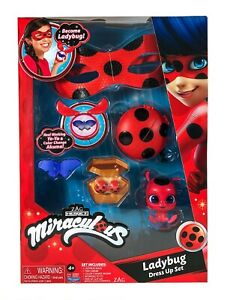 Miraculous Ladybug Roleplay Set -  mask, clip on earrings and accessories