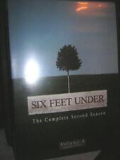 Six Feet Under DVD 2ndSeason Vol.4 Episodes 9/10/11  Replacement ArtworkCase GUC