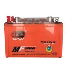 GEL YTX9-BS Battery for Honda CBR 600 900 RR 900R Shadow VLX VT600C CD XR650L
